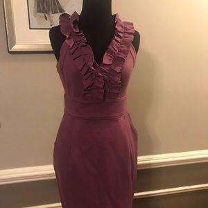 New Banana Republic Purple Dress Sleeveless Size 0